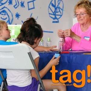 volunteer at tag! Children's Museum